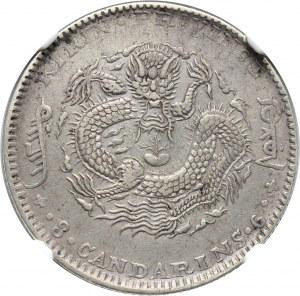 Chiny, Kirin, 50 centów 1901