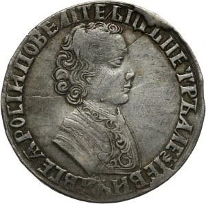 Rosja, Piotr I, rubel 1704, Krasnyj Dvor
