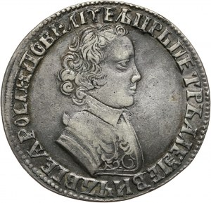 Rosja, Piotr I, rubel 1705 MД, Kadashevski Dvor