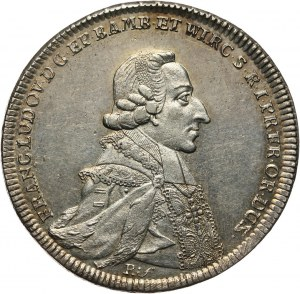 Niemcy, Würzburg, Franciszek Ludwik von Erthal, talar 1791 MP