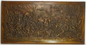 Plakieta w brązie z 1910 roku, Bitwa pod Grunwaldem