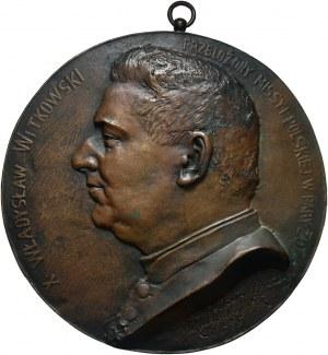 Plakieta w brązie z 1885 roku, Władysław Witkowski - przełożony misji polskiej w Paryżu
