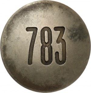 II RP, odznaka Policji Państwowej, numer 783