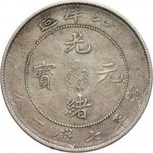 Chiny, Chihli, dolar rok 34 (1908)