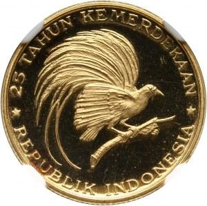 Indonezja, 2000 rupii 1970, Rajski ptak