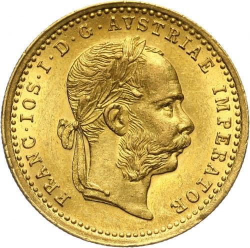 Austria, Franciszek Józef I, dukat 1873, Wiedeń