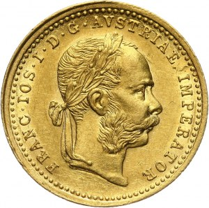 Austria, Franciszek Józef I, dukat 1876, Wiedeń