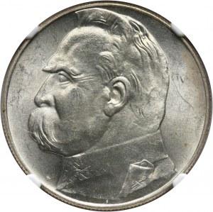 II RP, 10 złotych 1936, Warszawa, Józef Piłsudski