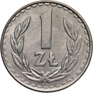 PRL, 1 złoty 1984, bez napisu PRÓBA, miedzionikiel