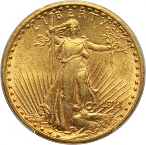 Stany Zjednoczone Ameryki, 20 dolarów 1911, Filadelfia