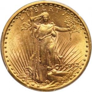 Stany Zjednoczone Ameryki, 20 dolarów 1912, Filadelfia