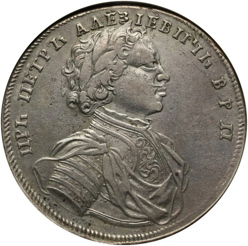 Rosja, Piotr I, rubel 1714, Krasnyj Dvor