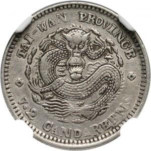 Chiny, Tajwan, 10 centów bez daty (1893-1894)