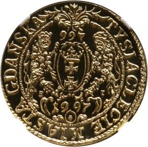 III RP, 200 złotych 1996, Tysiąclecie Gdańska, złoto