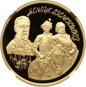 III RP, 200 złotych 1996, Henryk Sienkiewicz, złoto