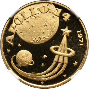 Fujairah, 100 riali 1971, Apollo XIV