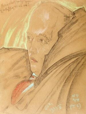 Stanisław Ignacy Witkiewicz (1885 Warszawa – 1939 Jeziory na Polesiu) Portret pianisty Goreckiego, 2 poł. V 1933 r.