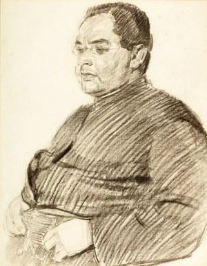 Józef Mehoffer (1869 Ropczyce k. Lwowa – 1946 Wadowice) Portret jezuity