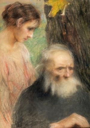 Teodor Axentowicz (1859 Braszów/Rumunia – 1938 Kraków) Starość i młodość