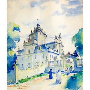 Stanisław Terlecki (1901 Lwów - 1991 Gdańsk) Lwów – Archikatedralny sobór św. Jura