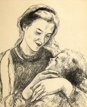 Wlastimil Hofman (1881 Praga – 1970 Szklarska Poręba) Madonna
