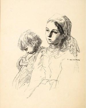 Józef Chełmoński (1849 Boczki – 1914 Kuklówka Zarzeczna) Matka, 1903 r.