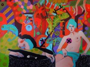 MARCIN PAINTA, ONA I KAMELEONY, 2015
