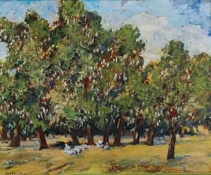 Jerzy RUPNIEWSKI (1888-1950), Kwitnące kasztanowce, 1936