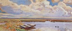 Julian FAŁAT (1853-1929), Lato w Osieku