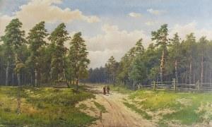 Józef GURANOWSKI (1852-1922), Powrót z miasta, 1906