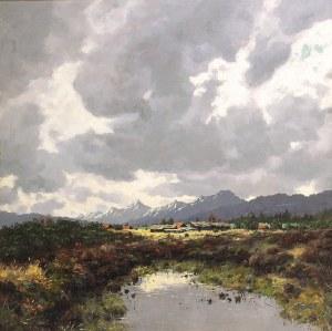 Karl SCHAETTE (1884-1951), Pejzaż górski