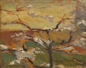 Jan STANISŁAWSKI (1860-1907), Kwitnące drzewo