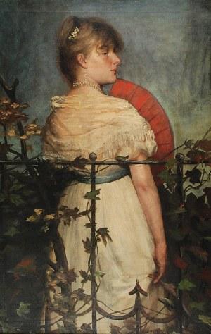 Franciszek STREITT (1839-1890), W altanie