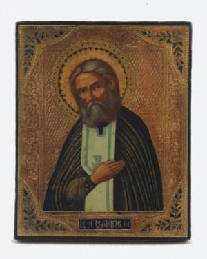 Ikona - Św. Serafin z Sarowa