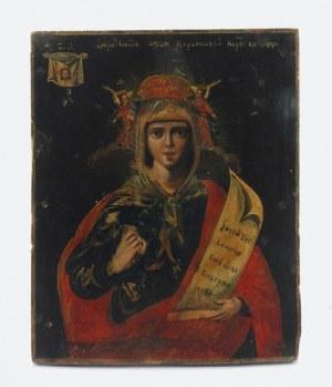 Ikona - Św. Paraskiewa Rzymska, Męczennica