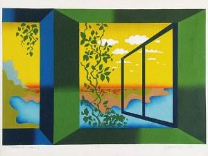 Zygmunt CZYŻ (1904-2003), Otwarte okno I, 1974