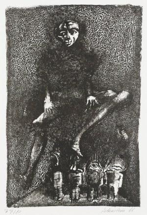 Jan LEBENSTEIN (1930-1999), Z cyklu: Carnet Incomplet, 1966