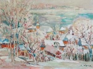Henryk KRYCH (1905-1980), Zimowy pejzaż