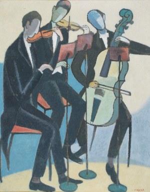 Adam Aron MUSZKA (1914-2005), Przed koncertem - Trio, przed 1964