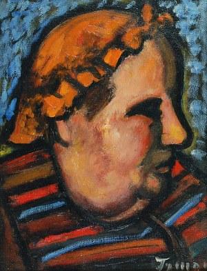 """Tymon NIESIOŁOWSKI (1882-1965), Głowa - """"Moja gosposia"""""""