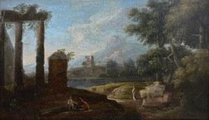 Artysta nieokreślony (2 poł. XVIII w.) Pejzaż włoski