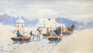 Adam Setkowicz (1875 Kraków - 1945 tamże) Sanna