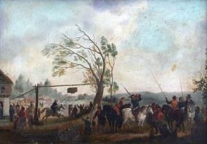 Artysta nieokreślony (XVIII w.) Holenderski festyn