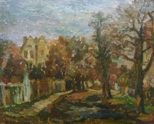 Kazimierz Śramkiewicz (1914 Poniec - 1998 Gdańsk) Ulica Podhalańska w Oliwie, 1946 r.