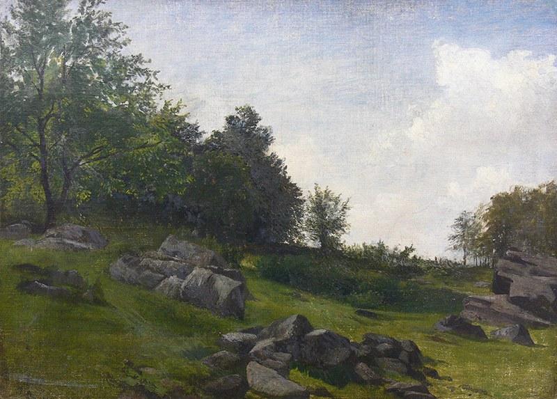 Malarz nieokreślony (XIX/XX w.) Pejzaż