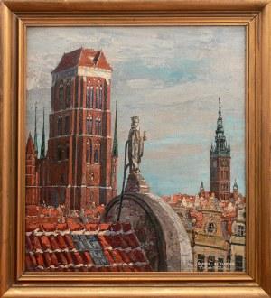Oskar Wilda (1886-1958) Wieża Bazyliki Mariackiej