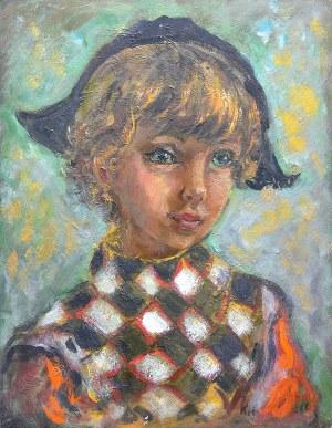 Katarzyna Librowicz (1912 Warszawa - 1991 Paryż) Portret chłopca
