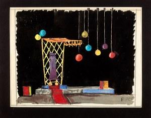 Piotr Potworowski (1898 Warszawa-1962 tamże) Projekt scenografii I