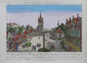 Balthasar Friedrich Leizel (1727-1802) Der Domniks Plan in Danzig, oder der Markt Plaz...