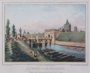 Friedrich E. Meyerheim (1808 Gdańsk – 1879 Berlin) Das hohe Thor zu Danzig